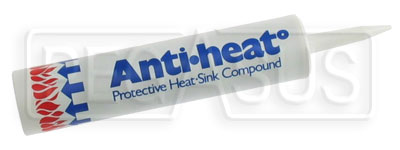 Large photo of Heat Sink Compound, 12 oz. Tube, Pegasus Part No. 3389-Size