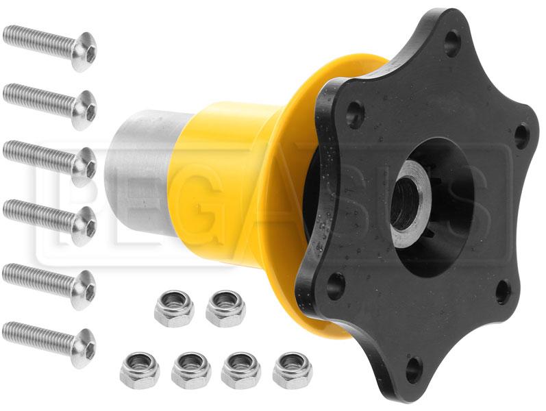 Qr2 Splined Quick Release 6 Bolt Hub 23mm Spline 1 Shaft Pegasus Auto Racing Supplies
