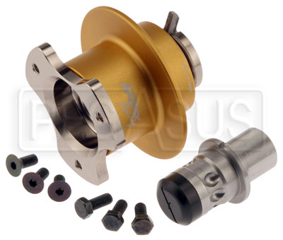 Large photo of Self-Centering Quick-Release Steering Wheel Hub, Pegasus Part No. 3419-005-Size