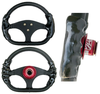Large photo of (HAO) Ugli Gripz Formula Car Steering Wheel Grip, Pegasus Part No. 3420-201