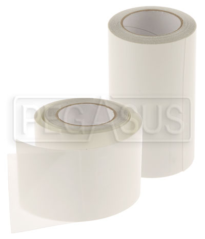 Large photo of Clear Surface Guard Tape, 8 mil, 12 Foot Roll, Pegasus Part No. 3437-001-Size