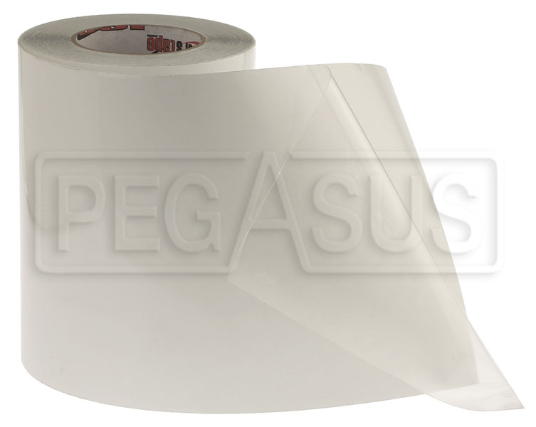 Large photo of Clear Surface Guard Tape, 14 mil, 60 foot Roll, Pegasus Part No. 3437-004-Size