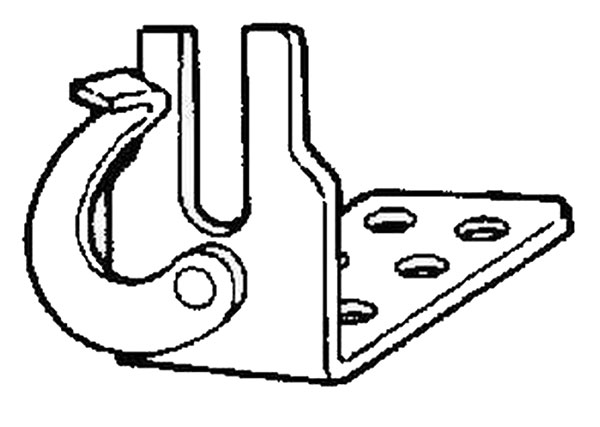 Large photo of Quick Release Housing Clamp, Pegasus Part No. 3465