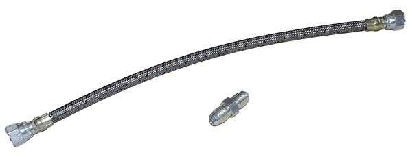 Large photo of OBP Cobra Braided Reservoir Feed Hose, 4AN, 12.5