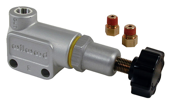 Large photo of Wilwood Knob Style Brake Proportioning Valve - 1/8