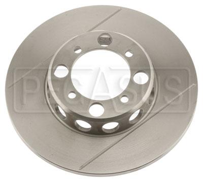Brake Rotor, DB2/DB3 w/LD20, Solid, F&R, Grooved & Lightened