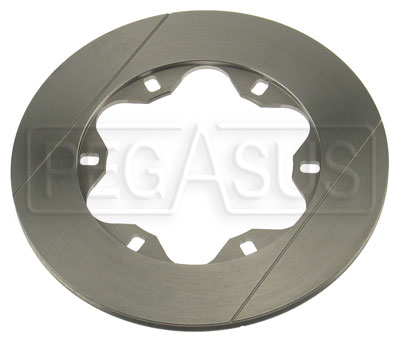 Large photo of Brake Disc, Van Diemen FC 94 + up Front (LD20), No Hat, Pegasus Part No. 3545-33