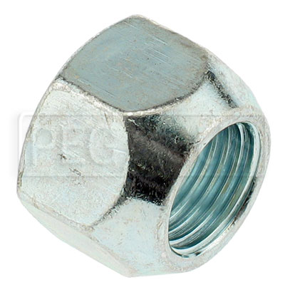 Large photo of Dodge/Chrysler Steel Lug Nut, 1/2-20 Thread x 3/4 Hex, Pegasus Part No. 3548-003