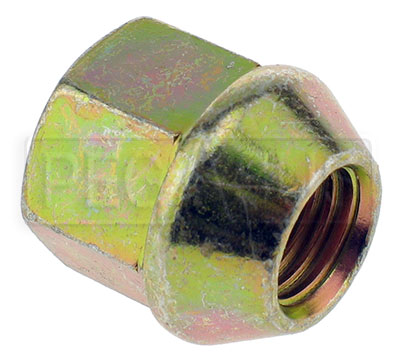 Large photo of GM Steel Lug Nut for Aluminum Wheels, 12mm x 1.5 Threads, Pegasus Part No. 3548-005