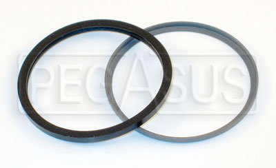 Large photo of Lockheed Caliper Dust Seal with Retainer, Pegasus Part No. 3583-Size