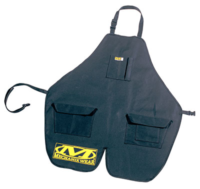 Large photo of Mechanix Shop Apron - Black, Pegasus Part No. 3737