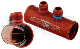 Integrated Remote Check Valve, 10AN Male Fittings