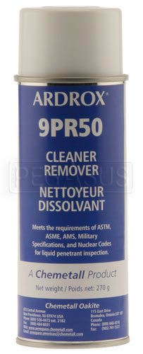 Large photo of (HAO) Crack Testing, Cleaner/Remover, Pegasus Part No. 3767