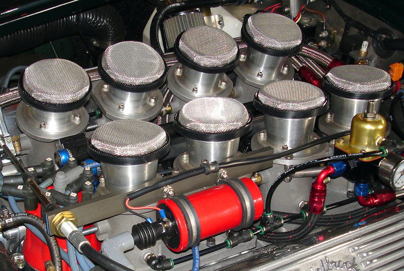 air filters for velocity stack air horns