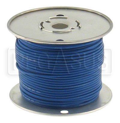 Large photo of Wire, 18 Gauge - Blue, Pegasus Part No. 4005-Size