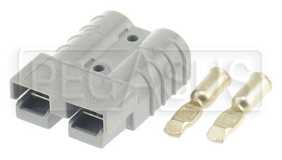 Large photo of 50 amp Auxiliary Battery Connector Half (Small Size), Pegasus Part No. 4146