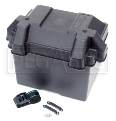 Large photo of Plastic Group 24 Battery Box, Pegasus Part No. 4155