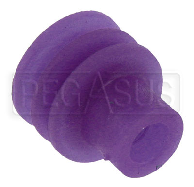 Large photo of Weather Pack Terminal Seal for 1.60 to 2.15mm Wire (Purple), Pegasus Part No. 4185-071