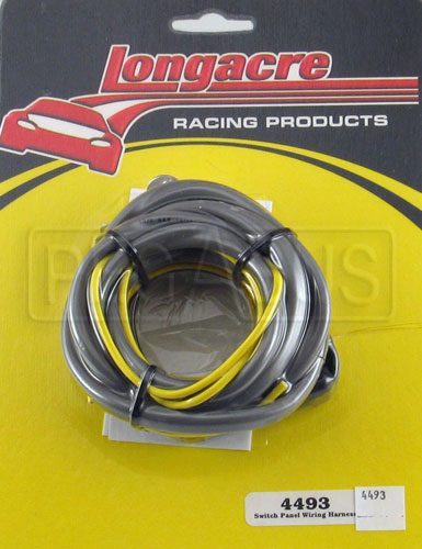 Large photo of Longacre Heavy Duty 12 Gauge Basic Wiring Harness, Pegasus Part No. 4493