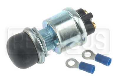 Large photo of Longacre Pushbutton Starter Switch with Weatherproof Cover, Pegasus Part No. 4546
