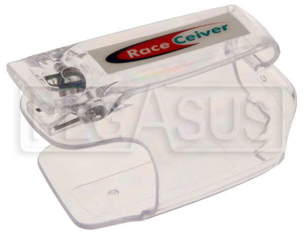 Large photo of RACEceiver Plastic Holder with Clip, Pegasus Part No. 5072-026