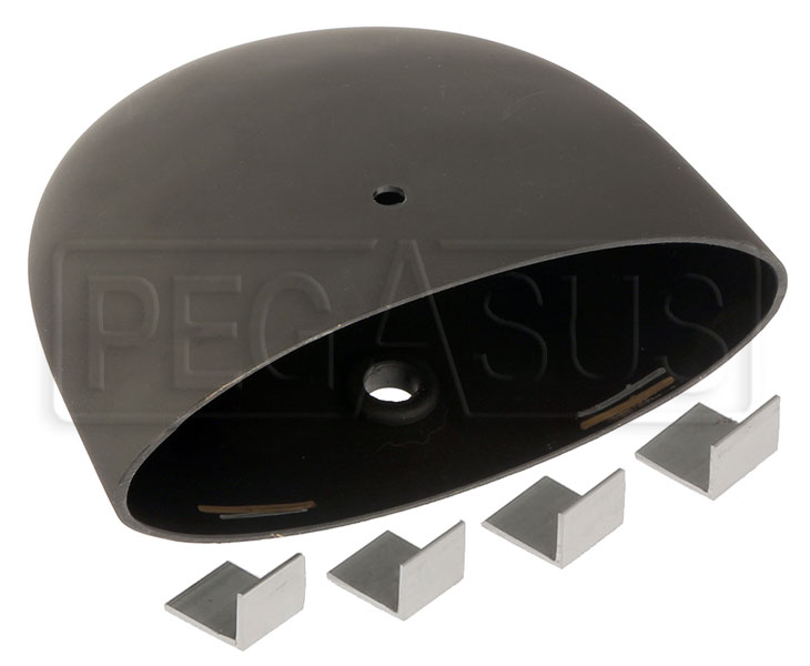 Large photo of Replacement Vinyl Mirror Housing for Club Series, Elliptical, Pegasus Part No. 5168-318