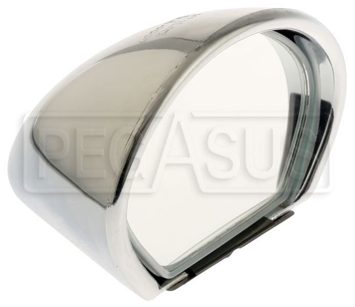Large photo of Vitaloni Sebring Mach I Mirror, Chrome - Flat Lens, Pegasus Part No. 5170-001