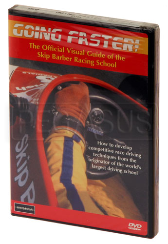 Large photo of Going Faster, Mastering The Art of Driving, DVD, Pegasus Part No. 5290-004