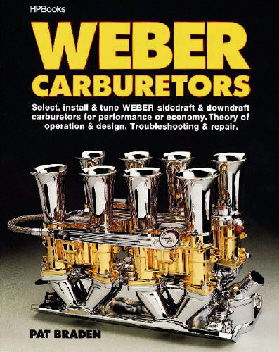 Large photo of Weber Carburetors by Pat Braden, Pegasus Part No. 5326