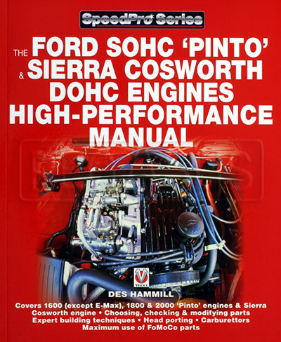 Large photo of Ford SOHC Pinto Engine High-Performance Manual, Pegasus Part No. 5398-002