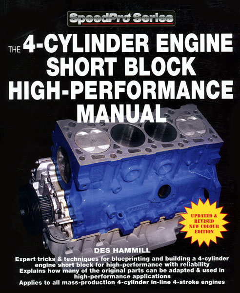 Large photo of The 4-Cylinder Engine Short Block High-Performance Manual, Pegasus Part No. 5398-012