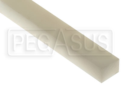 Large photo of 3/4 x 1 inch Wear Strip, per inch of length, Pegasus Part No. 6103