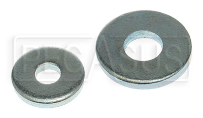 Large photo of Steel Backup Washers for Rivets (500 pack), Pegasus Part No. 641-Size
