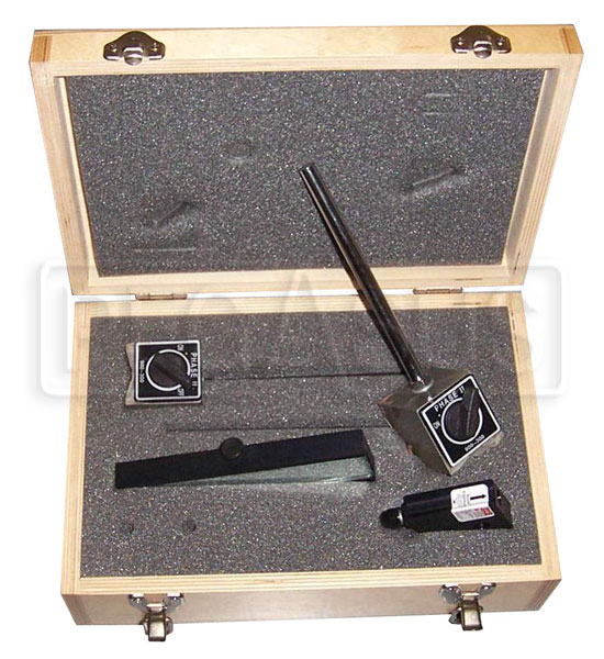 Large photo of Laser Bump Steer Gauge with Case by ART, Pegasus Part No. 7002