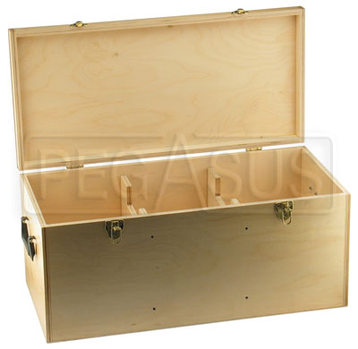 Large photo of Wood Storage Case for Laser String, Pegasus Part No. 7009