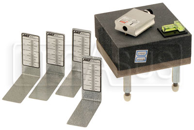 Large photo of ART Laser Scale Pad Leveling System w/ Granite Plate, Pegasus Part No. 7051