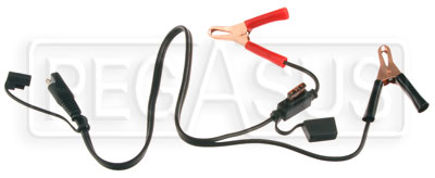Large photo of Battery Tender Alligator Clip, 2-pin Quick Disconnect Cable, Pegasus Part No. 7205-002