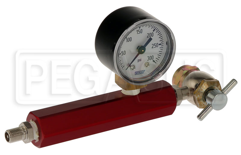 Large photo of Penske High Pressure Shock Inflation Tool, 300 psi, Pegasus Part No. 8021-001