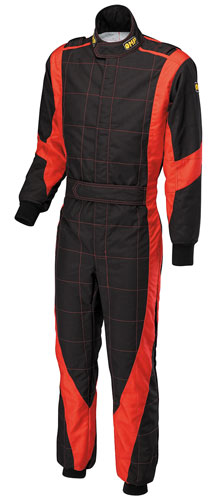 Large photo of OMP Champ Karting Suit, Pegasus Part No. 9304-Size-Color
