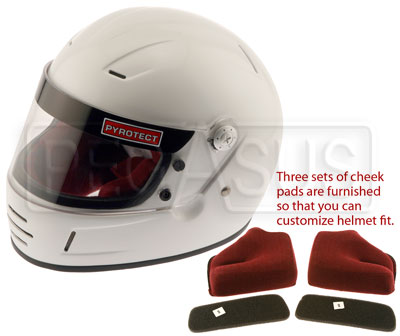 Large photo of Pyrotect Youth Helmet, SFI 24.1 Approved, Pegasus Part No. 9334-Color