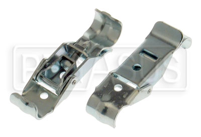 Large photo of Kart Front Spoiler Coupler with Spring Hook, Pair, Pegasus Part No. 9625-001