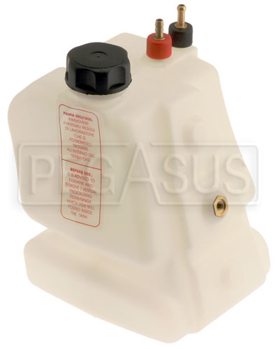 Large photo of Margay Fuel Tank, Small (3.5 Liter)- CIK Quick Release Style, Pegasus Part No. 9625-031