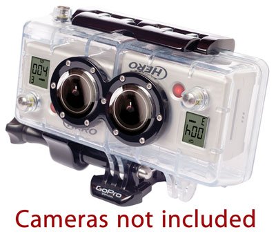 Large photo of GoPro 3D System, HD Hero/Hero2 only, Pegasus Part No. 9740-106