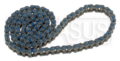 Large photo of RK 219 Super Endurance Blue O-Ring Chain, 114 Link, Pegasus Part No. 9814-219