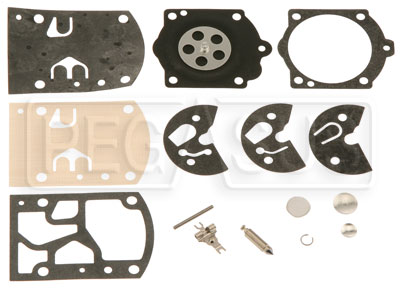 Large photo of Walbro WB-3A Complete Rebuild Kit, Pegasus Part No. 9849-051