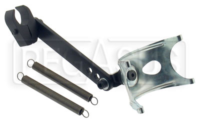 Large photo of Shifter Kart Exhaust Pipe Mount Assembly, Pegasus Part No. 9922-007