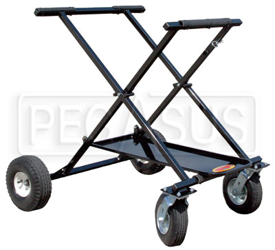Large photo of (SL) Kartlift Big Foot Rolling Kart Stand, Pegasus Part No. 9983-220