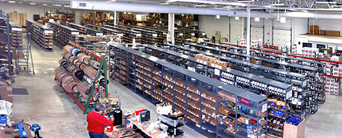 Our expanded warehouse