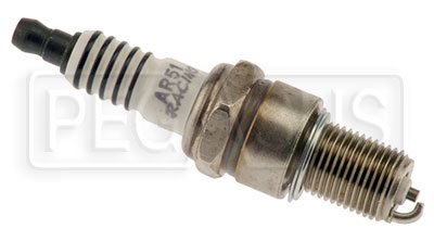 Large photo of Autolite AR51 Std Tip Spark Plug for Yamaha KT100 and HPV, Pegasus Part No. AL-AR51