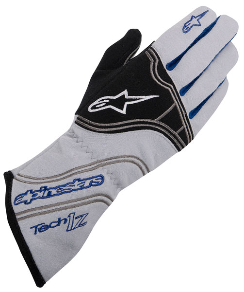 Large photo of Alpinestars Tech 1-Z Glove, SFI, FIA 8856-2000, Pegasus Part No. ALP1-302-Size-Color
